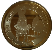 Token - Belgian Folklore (Wallonie les Nutons) – obverse