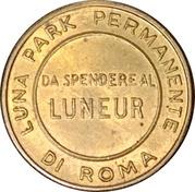 Token - Luna Park Luneur (Roma) – reverse