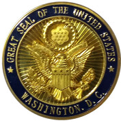White House Challenge Coin – reverse