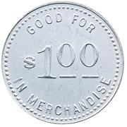 1 Dollar - W. P. Co. (Clearwater, Nebraska) – reverse