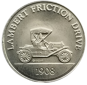 Token - Sunoco Antique Car Coin Series 2 (Lambert Friction Drive) – obverse