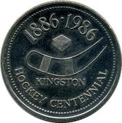 Hockey Centennial Dollar - Kingston – obverse
