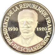 Token - Présidents de la République Française (Deschanel) – obverse