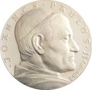 Token -  Ioannes Paulus II (Auschwitz) – obverse