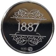 Token - 1830-1980 (1887) – reverse