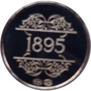 Token - 1830-1980 (1895 Van De Velde) – reverse