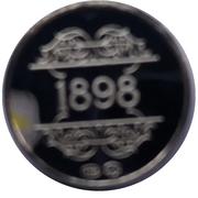 Token - 1830-1980 (1898 Guido Gezelle) – reverse