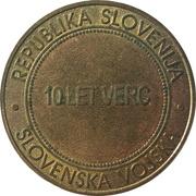 Token - Slovenska vojska (Verifikacijski center) – reverse