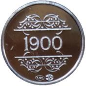 Token - 1830-1980 (1900 H. Pirenne) – reverse