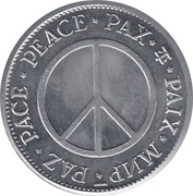 Peace Medal - Golda Meir Prime Minister of Israel – reverse