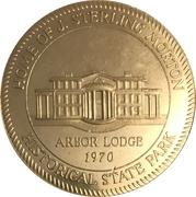 Token - Arbor Lodge (Nebraska City, Nebraska) – obverse