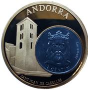 Token - European Currencies (Andorra) – obverse