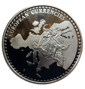 Token - European Currencies (Andorra) – reverse