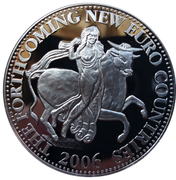 Token - The Forthcoming New Euro Countries (Slovakia) – obverse