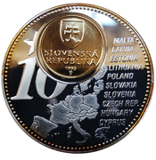 Token - The Forthcoming New Euro Countries (Slovakia) – reverse