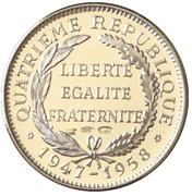 Token - Présidents de la République Française (Auriol) – reverse