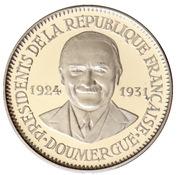 Token - Présidents de la République Française (Doumergue) – obverse