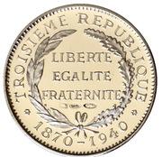 Token - Présidents de la République Française (Doumergue) – reverse