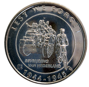 Token - 75 years of liberation by Canada – obverse