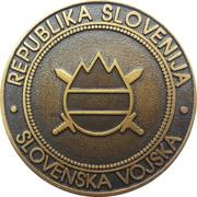 Token - Slovenska vojska (32. VTP) – reverse