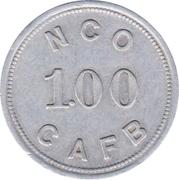 1 Dollar - N.C.O. Open Mess (Charleston Air Force Base, South Carolina) – obverse