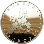 Token - European Currency (Czech Republic) – reverse