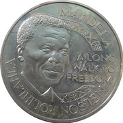 Token - Nelson Mandela (The Nobel Peace Prize 1993) -  obverse