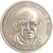 Medal - Mahatma Gandhi – obverse