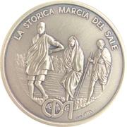 Medal - Mahatma Gandhi – reverse