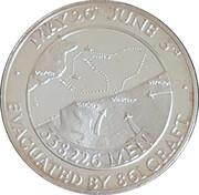 Medallion - Dunkirk 1940 – reverse