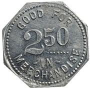 2½ Dollars - Dieter Mercantile Co. (Miltonvale, Kansas) – reverse