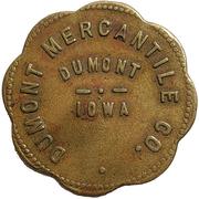 5 Dollars - Dumont Mercantile Co. (Dumont, Iowa) – obverse