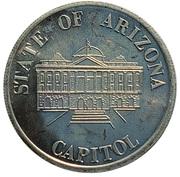 Token - Carl Trumbull Hayden (Arizona) – reverse