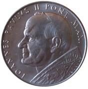 Medal - Ioannes Paulus II Visit in Czechoslovakia 1990 – obverse