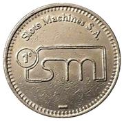 25 Centavos - Slots Machines S. A. – obverse