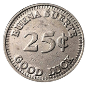 25 Centavos - Slots Machines S. A. – reverse