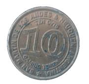 10 Centavos - Casino Magic (San Martín de los Andes & Neuquén) – reverse