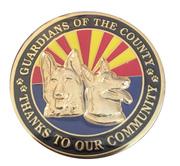 Token - K-9 Unit (Mohave County, Arizona) – obverse