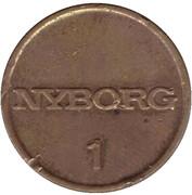 Token - Nyborg 1 (type 2) – reverse