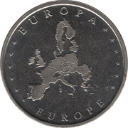 Token - Europa (Germany) – reverse