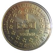 1 ECU - Bonifacio – reverse