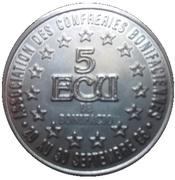 5 ECU - Bonifacio – reverse