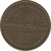 Token - Spelers Munten Collectie Nederlands Elftal (R. Koeman) – reverse