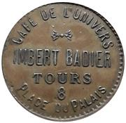Token - Café de l'univers Imbert Badier (Tours) – reverse