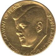 Medal - John F. Kennedy – obverse
