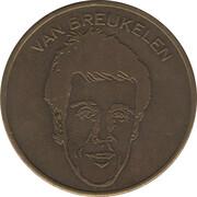 Token - Spelers Munten Collectie Nederlands Elftal (van Breukelen) – obverse