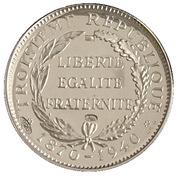 Token - Présidents de la République Française (Carnot) – reverse