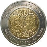 100 Batzen - Bauernkrieg 1653 (Bimetallic) – obverse