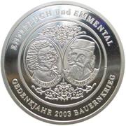 100 Batzen - Bauernkrieg 1653 (Silver) – obverse