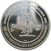 100 Batzen - Bauernkrieg 1653 (Silver) – reverse